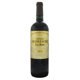 Château Grand Faurie La Rose 2012 Saint-Emilion Grand Cru